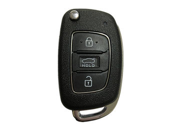 4D60 80 BIT Chip Hyundai Car Key Fob OKA-421T ADc-TP CR2032 Battery Black